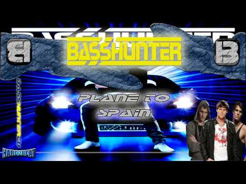 Tekst piosenki BassHunter - Plain To Spain po polsku