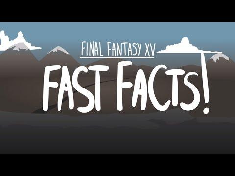 Быстрые факты о Final Fantasy XV!
