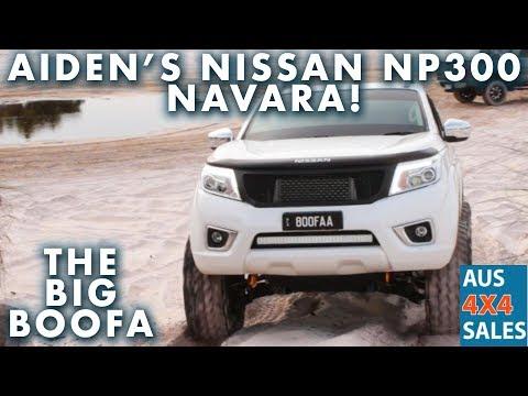 Nissan Navara ST NP300  2017 - THE BIG BOOFA - Custom Front Hi Mount - Nitto Trail Grapplers