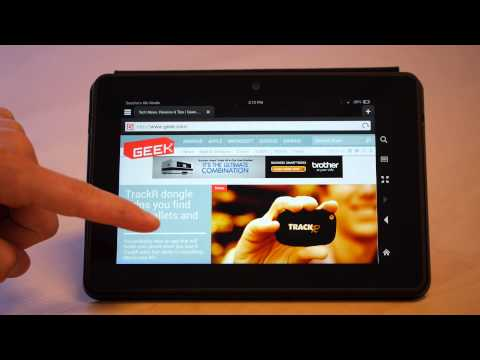 Amazon Kindle Fire HDX 7-inch hardware review