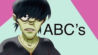 Learn The Alphabet With Murdoc Niccals From Gorillaz