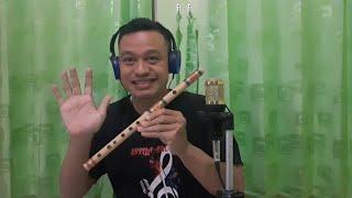 Gerimis Melanda hati Cover Suling bambu instrumental