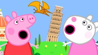 Video Peppa Pig Official Channel - Peppa Pig and Suzy Sheep Visits the Tiny Land! MP3, 3GP, MP4, WEBM, AVI, FLV Juli 2019