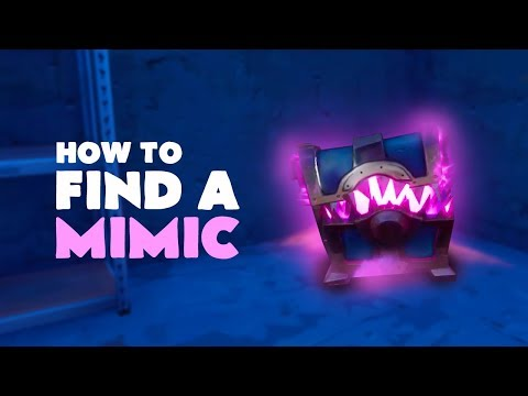 How to find a Mimic | Fortnite (Save the World)