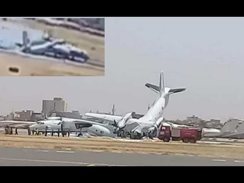 Two military aircraft An-32 and...