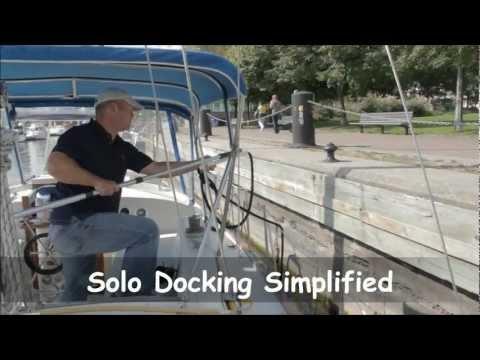 Docking stick boat hook adapter
