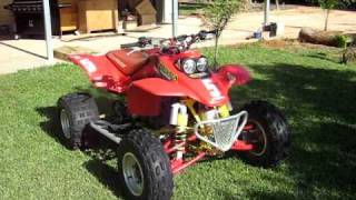 10. BIG HP Honda 400EX (650R)