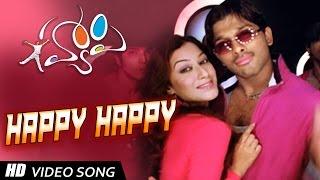 Happy Title  Song Lyrics from Happy - Allu Arjun
