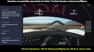 Playing Real Racing 3 Gameplay , Special Events, OMP and customizationMultistreaming with https://restream.io/