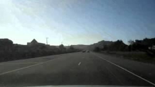 Road Trip 2010, Ft Bragg, CA to Monesto, CA