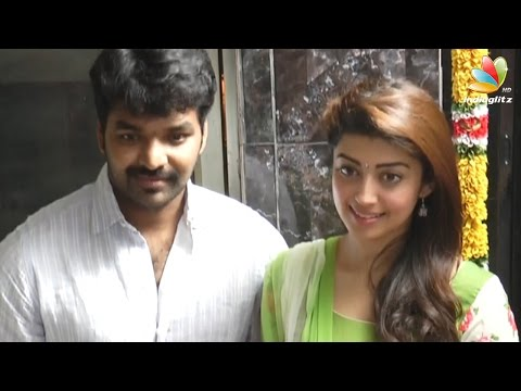 Jai-and-Pranitha-Subhashs-New-Movie--Ennaku-Vaaitha-Adimaigal-Movie-Pooja-Speech