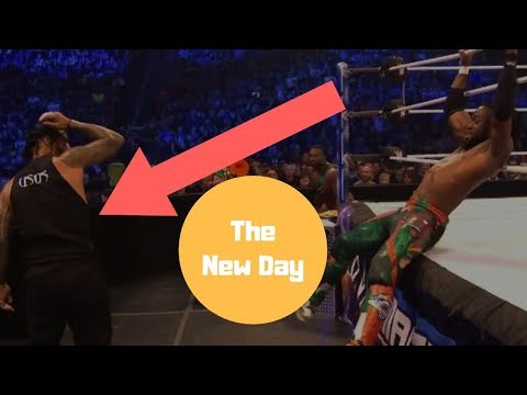 SmackDown LIVE   The New Day vs The Usos   Winners captain Survivor Series Tag Match