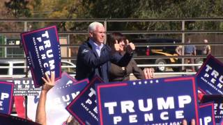 Republican VP Candidate Mike Pence Speaks in Durango
