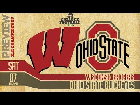 Ohio State vs Wisconsin - Big 10 Championship Game - Preview & Predictions