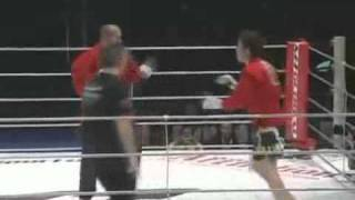 Fedor vs Shinya Aoki exhibition MMA match at M-1 Challenge.