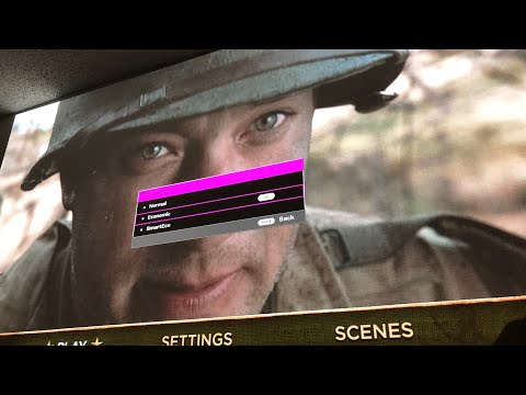 "Saving Private Ryan"" 4K Bluray - Saving Projector BenQ"