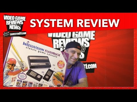 New Intellivision Flashback System Review - Gamester81