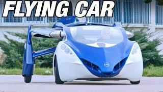 空飛ぶ夢の車「エアロモービル」の上空映像がこちら。夢の車は現実にあった!