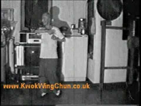 Ip Man playing forms