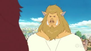 The Boy And The Beast   Clip  2  English Dub