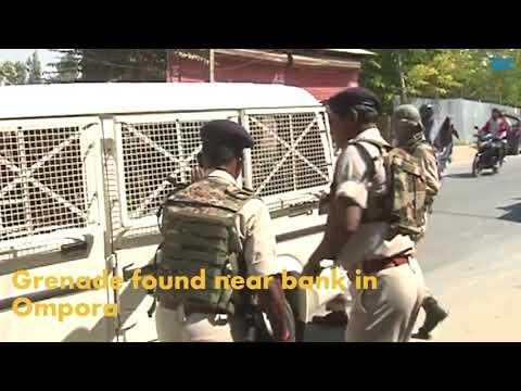 Grenade found near bank in Ompora