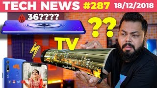 5G Trials India, Rollable TVs, Z5 Pro With 12GB RAM, Micromax Back, 3 Gionee Phones, Coolpad-TTN#287
