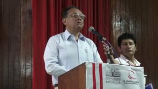 Así se llevó a cabo la audiencia pública de Contraloría en Iquitos (27 01 2017)
