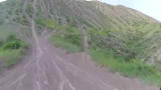 9. crf250l hill climb test