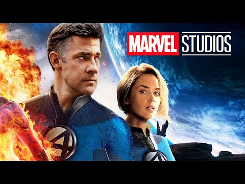 Marvel Fantastic Four Teaser Trailer - Spider Man and Phase 4 Movies Easter Eggs