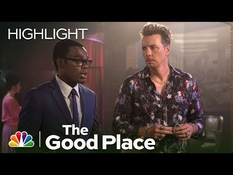 The Good Place - Chet vs. Chidi (Episode Highlight)