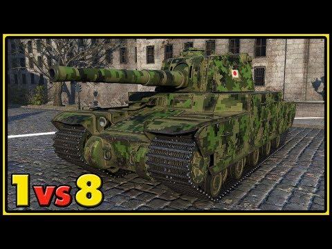 Type 5 Heavy - 1 vs 8 - World of Tanks Gameplay