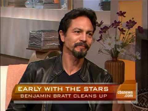 Benjamin Bratt Cleans Up
