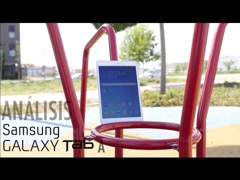 Análisis Samsung Galaxy Tab A, review en español