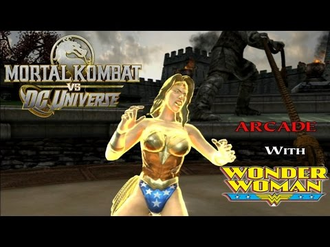 Mortal Kombat Vs Dc Universe Playthrough - Wonder Woman