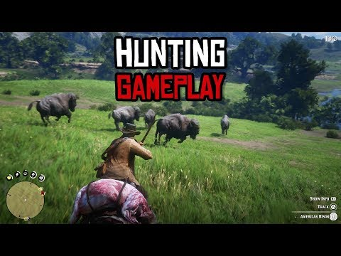 Red Dead Redemption 2 Hunting Gameplay