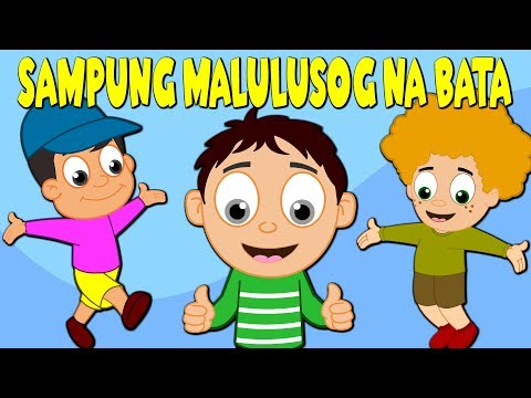 Sampung Malulusog na Bata   Awiting Pambata 2017   Kids Songs Tagalog