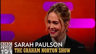 Sarah Paulson Is Okay With A Single Hole | The Graham Norton Show | BBC America