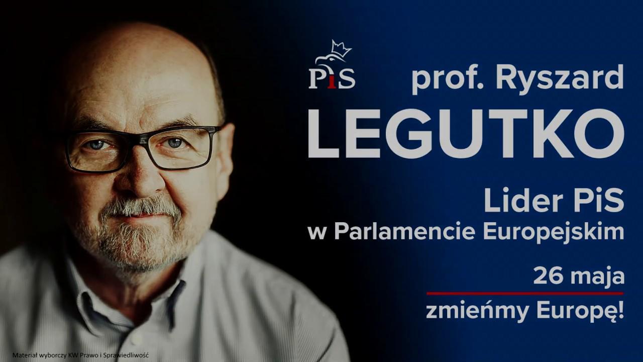 Europosłowie frakcji EKR o prof. Legutko