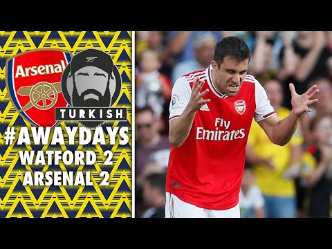 EMERY ON THIN ICE? 😡 | #AWAYDAYS | WATFORD 2-2 ARSENAL | MATCHDAY VLOG | POST MATCH THOUGHTS