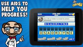 What's The Word? Word Puzzle YouTube video