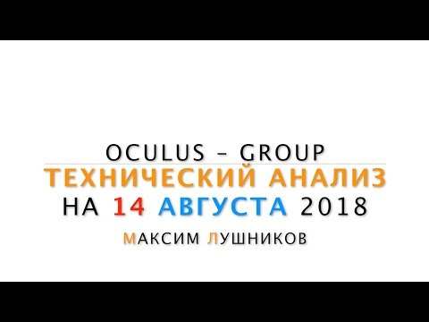 Технический обзор рынка Форекс на 14.08.2018 от Максима Лушникова - DomaVideo.Ru