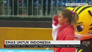 Sempat tak diperhitungkan di awal, cabang olahraga senam artistik berhasil mendapat medali emas, lewat Rifda Irfanaluthfi yang turun di nomor balance beam.Ikuti berita terbaru di tahun 2017 dengan kemasan internasional berbahasa Indonesia, dan jangan ketinggalan breaking news 2017 dengan berita terakhir dan live report CNN Indonesia di https://www.cnnindonesia.com dan channel CNN Indonesia di Transvision. Follow & Mention Twitter kami :@myTranstweet@cnniddaily@cnnidconnected @cnnidinsight @cnnindonesia Like & Follow Facebook:CNN IndonesiaFollow IG: cnnindonesia