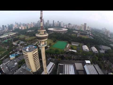 Central Jakarta Drone Video