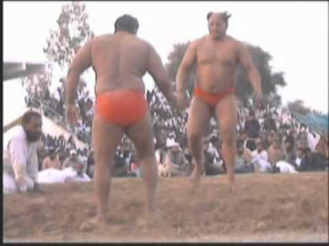 Bashir bohla bhala vs Sanaullah Pehalwan Rustam e Sarhad 19 02 2012
