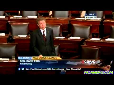 Senator Rand Paul's FULL Filibuster Of The Patriot Act Reauthorization