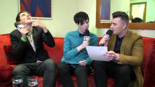Backstage with Sam Smith | BRITs Nominations 2014
