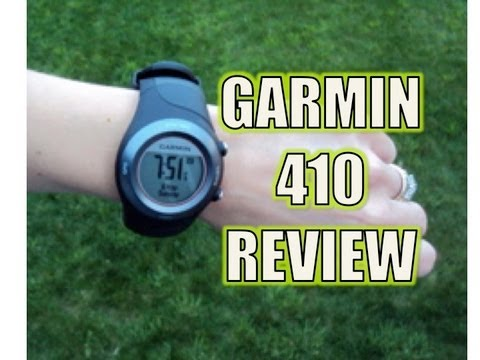 Garmin Forerunner Review - 410