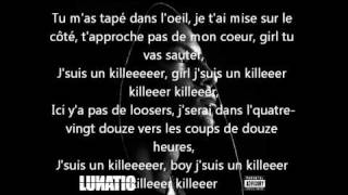 Vrai Lyrics Paroles BOOBA - KILLER LUNATIC ALBUM 2010