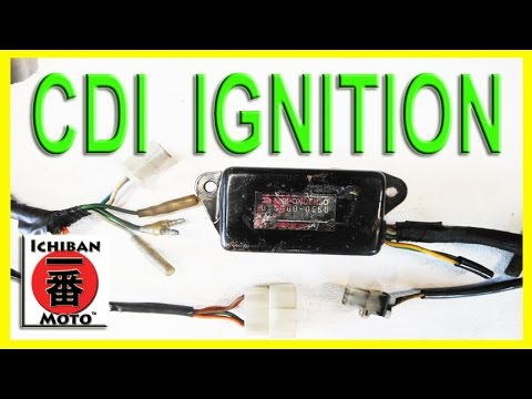 how to test and repair motorcycle CDI electronic ignition module coil system spark failure parody