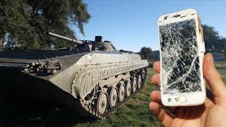 iPhone vs Armored Personnel Carrier - BMPGet my shirts here:http://bit.ly/LeadFarmerClothingFacebook: http://www.Facebook.com/RichardRyanInstagram: http://www.Instagram.com/RichardRyan
